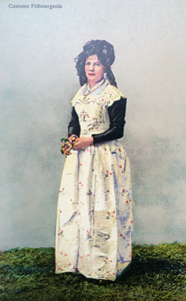 Costume Fribourgeois