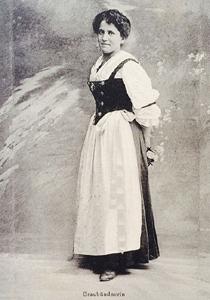 Graubündnerin 1915